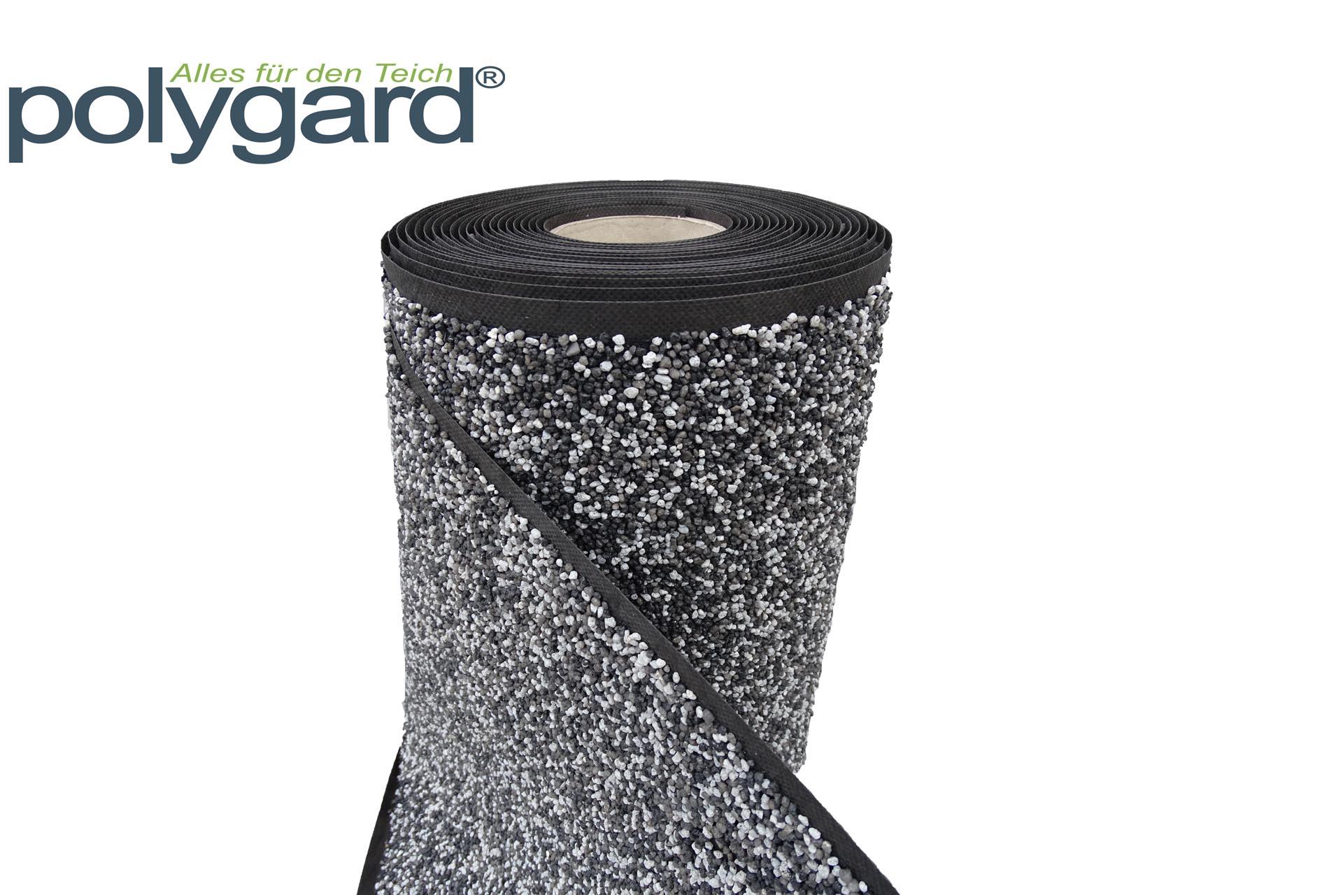 Steinfolie - Polygard - Granitgrau