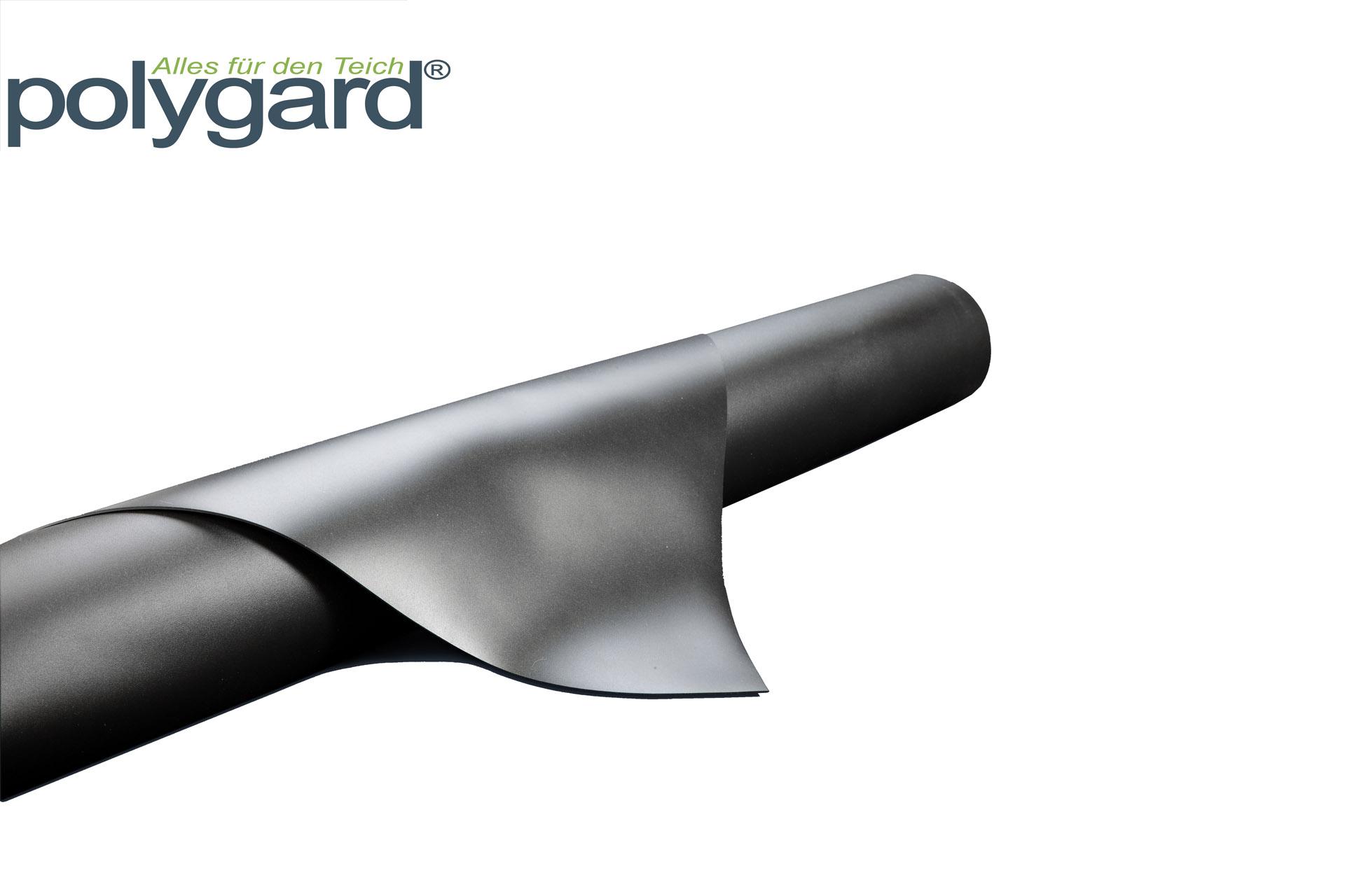 PVC Teichfolie, 0,5 mm schwarz