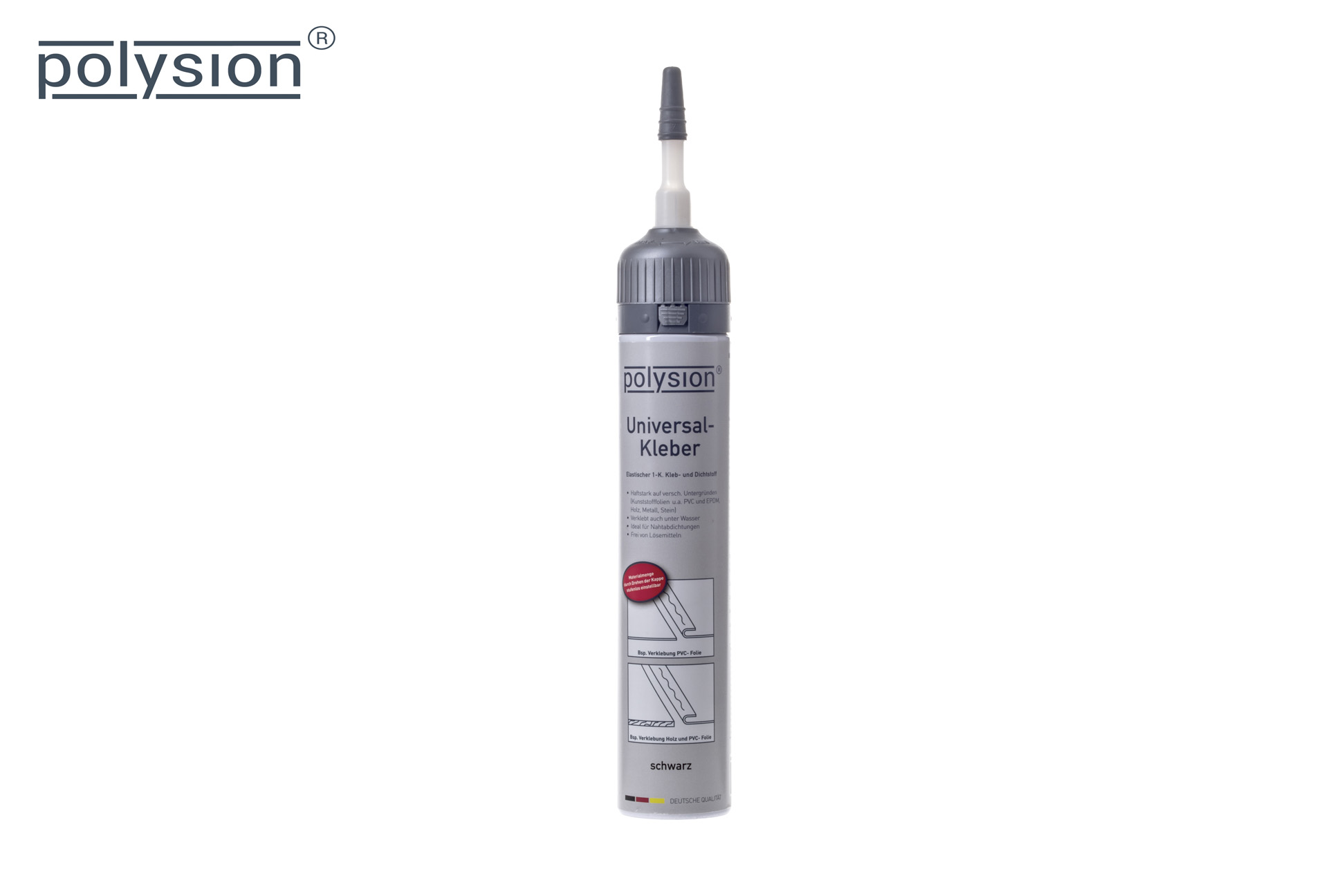 Polysion®Universalkleber, 200 ml mit Düse - Grundpreis: 9,45€/100ml